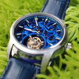 Waldhoff Imperial Royal Blue Limited Ed. (tourbillon, sapphire case, 80hr reserve)