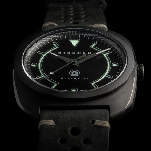 Direnzo DRZ_02 Black PVD - Swiss Made Limited Edition