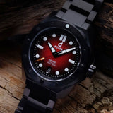 BOLDR Odyssey Metal Red (Swiss Movement)