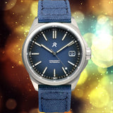 RZE Resolute Cobalt Blue - Titanium 100m Limited Edition