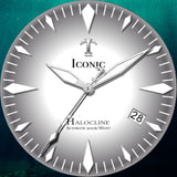 Iconic Halocline (Gray/Grey) Limited Edition - Swiss Mvmt