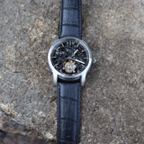 Waldhoff Imperial Black Diamond Limited Ed. (tourbillon, sapphire case, 80hr reserve)