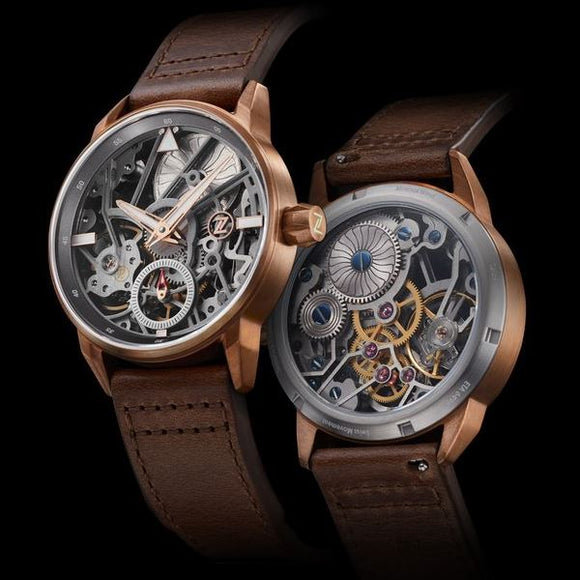Zelos Skyraider Bronze Skeleton - Limited Edition ETA 6498