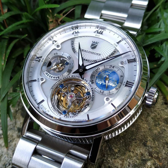 Waldhoff Ultramatic - Diamond Silver Mother-of-Pearl (Store Exclusive!)