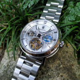 Waldhoff Ultramatic Exclusive - Diamond Silver Mother‑of‑Pearl