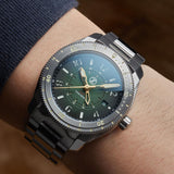 Zelos Thresher 500m GMT - Hunter Green (Swiss ETA 2893)