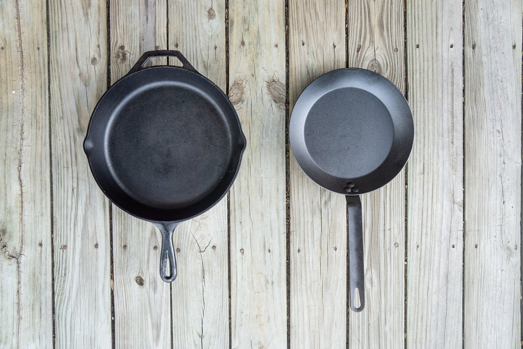 Carbon Steel Vs Cast Iron Skillets