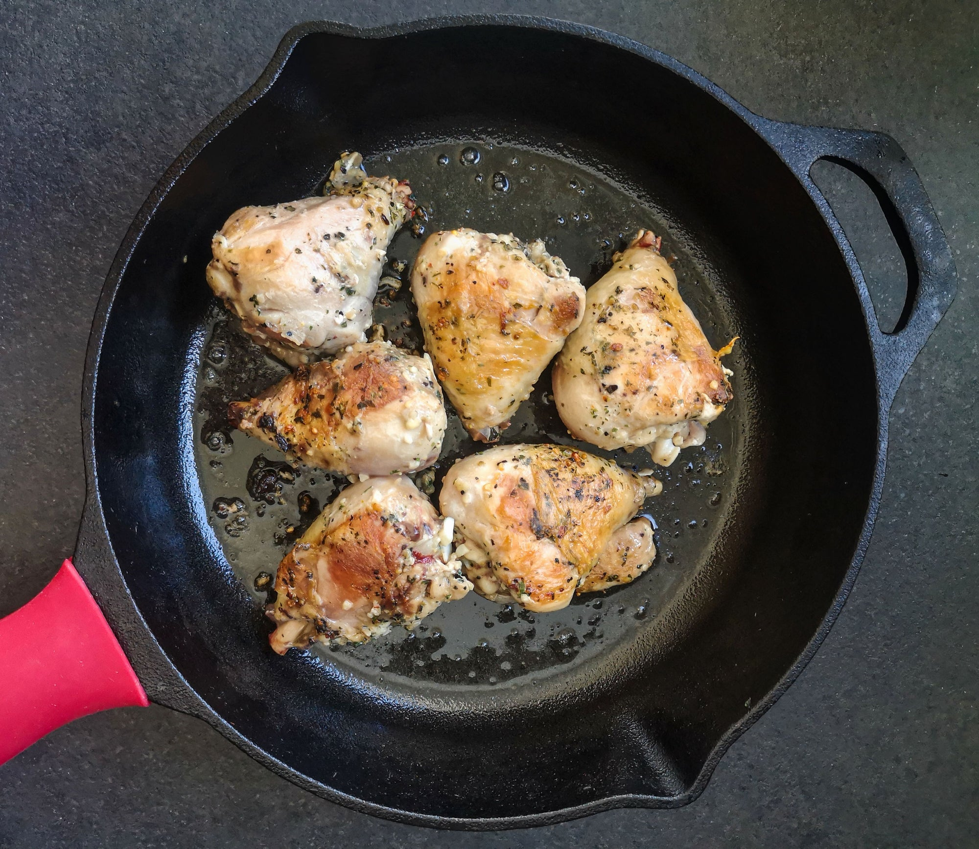 Pan Fried Chicken Thighs Recipe
