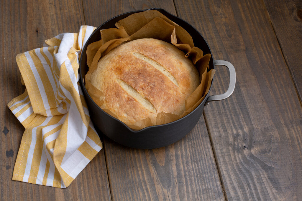 Campfire Bread: Dutch Oven Campfire Bread Recipe