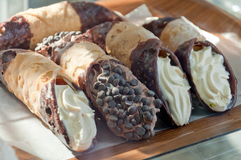 Homemade Cannoli Shells