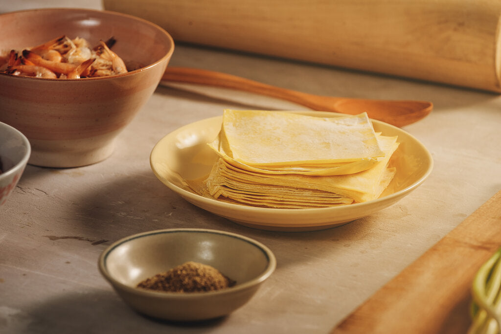 Asian-Style Homemade Dumpling Wrapper Recipe