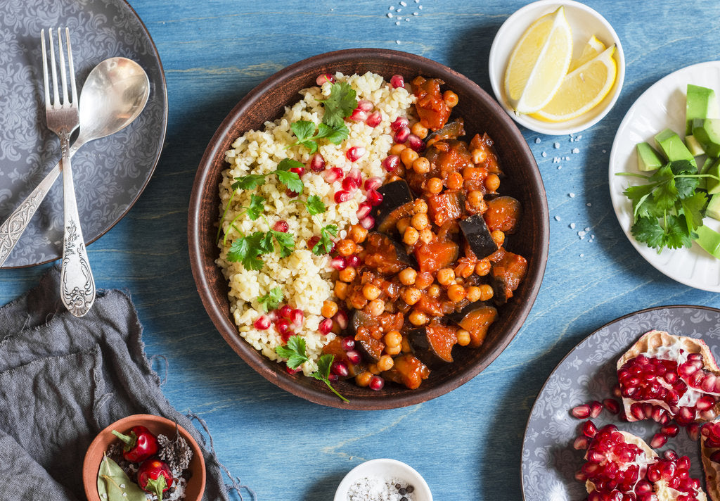 Moroccan-Inspired Eggplant Tagine Recipe