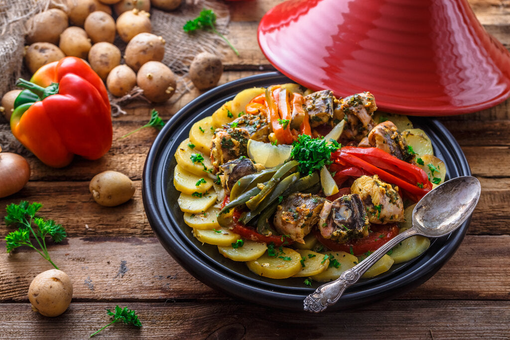 Traditional Tagine Moroccan Fish Recipe