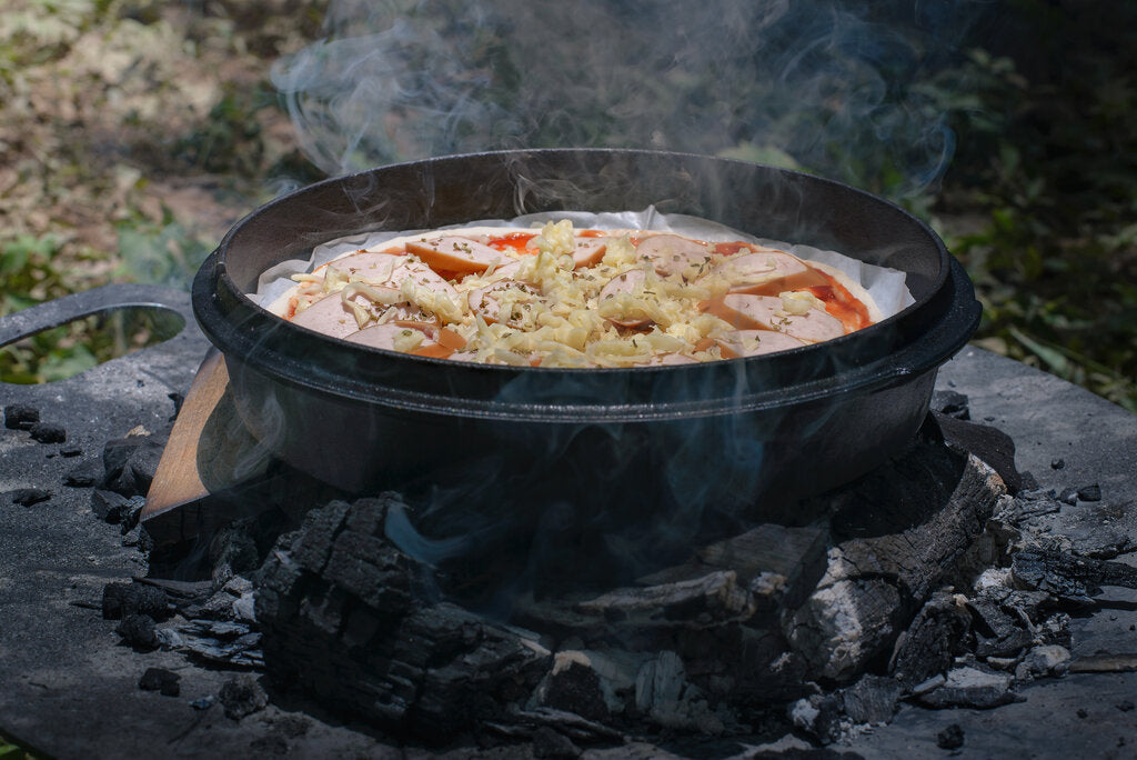 Dutch Oven Pizza: A Fresh Campfire Recipe