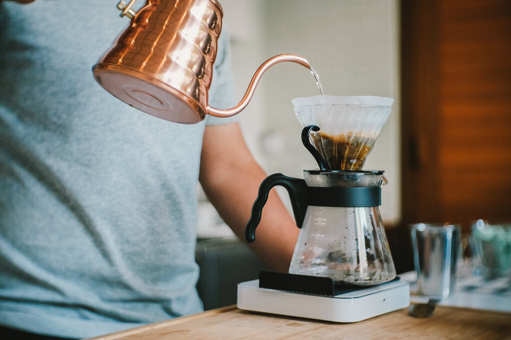Pour-Over Coffee Brewing Technique
