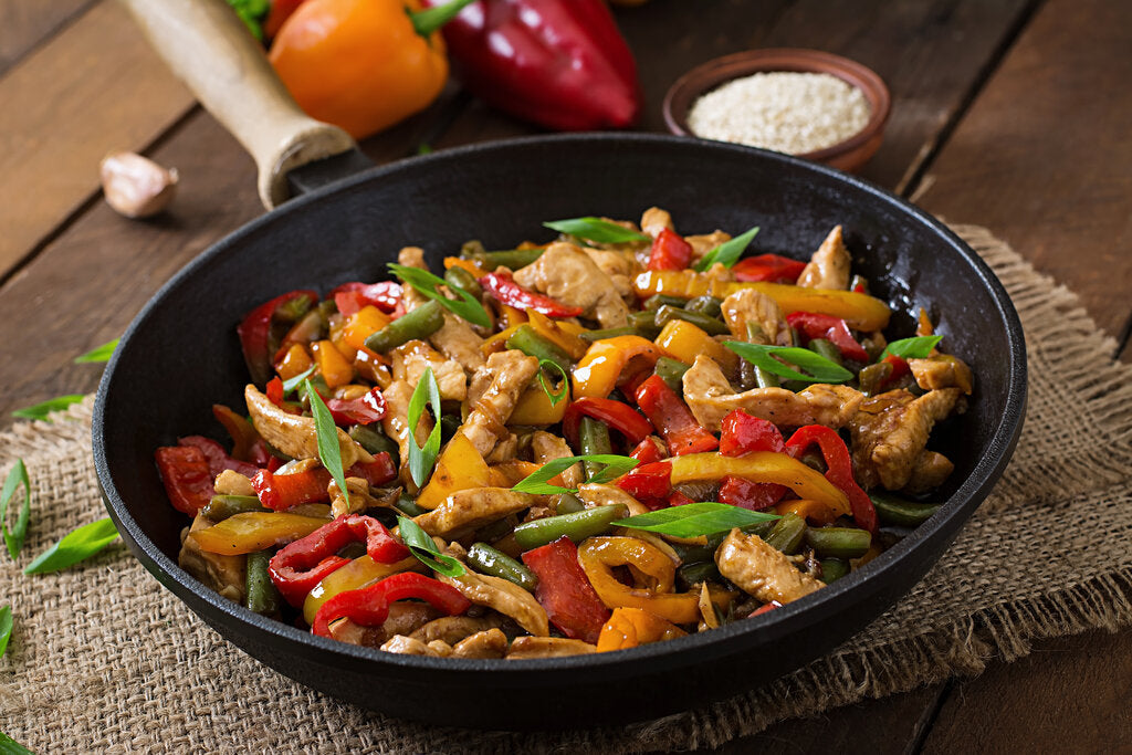 Stir-Fry Seasoning With Sweet And Spicy Heat