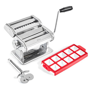 pasta maker with ravioli making mold