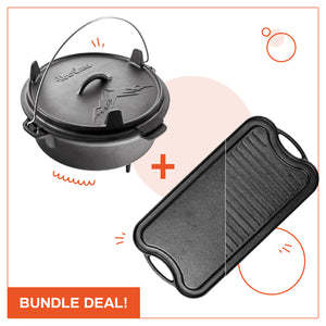Cast-Iron Camping Set