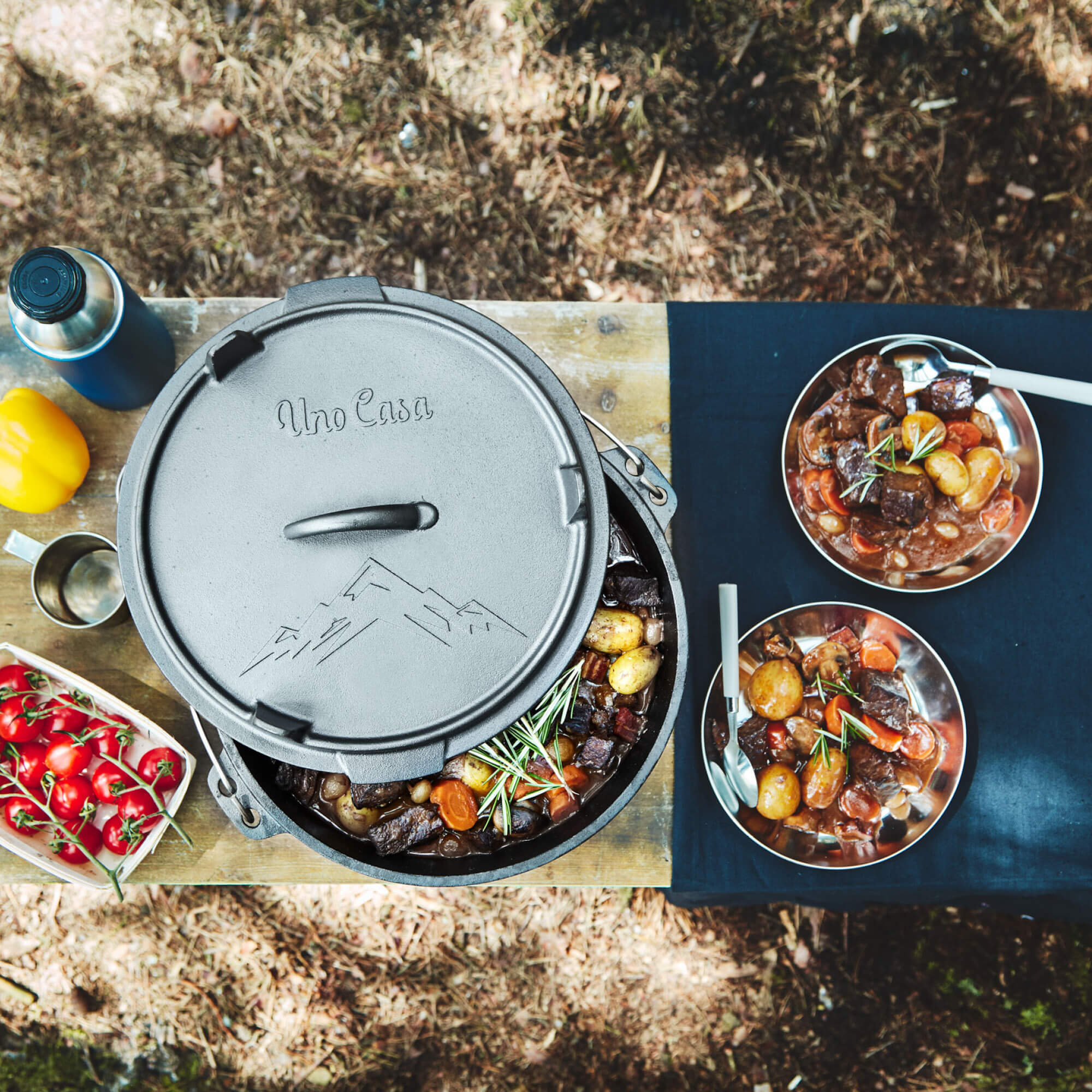 camping dutch oven cooking 2