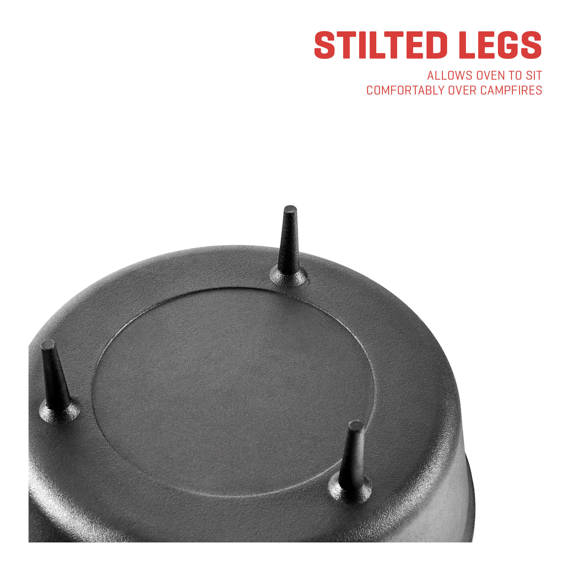 camping dutch oven legs
