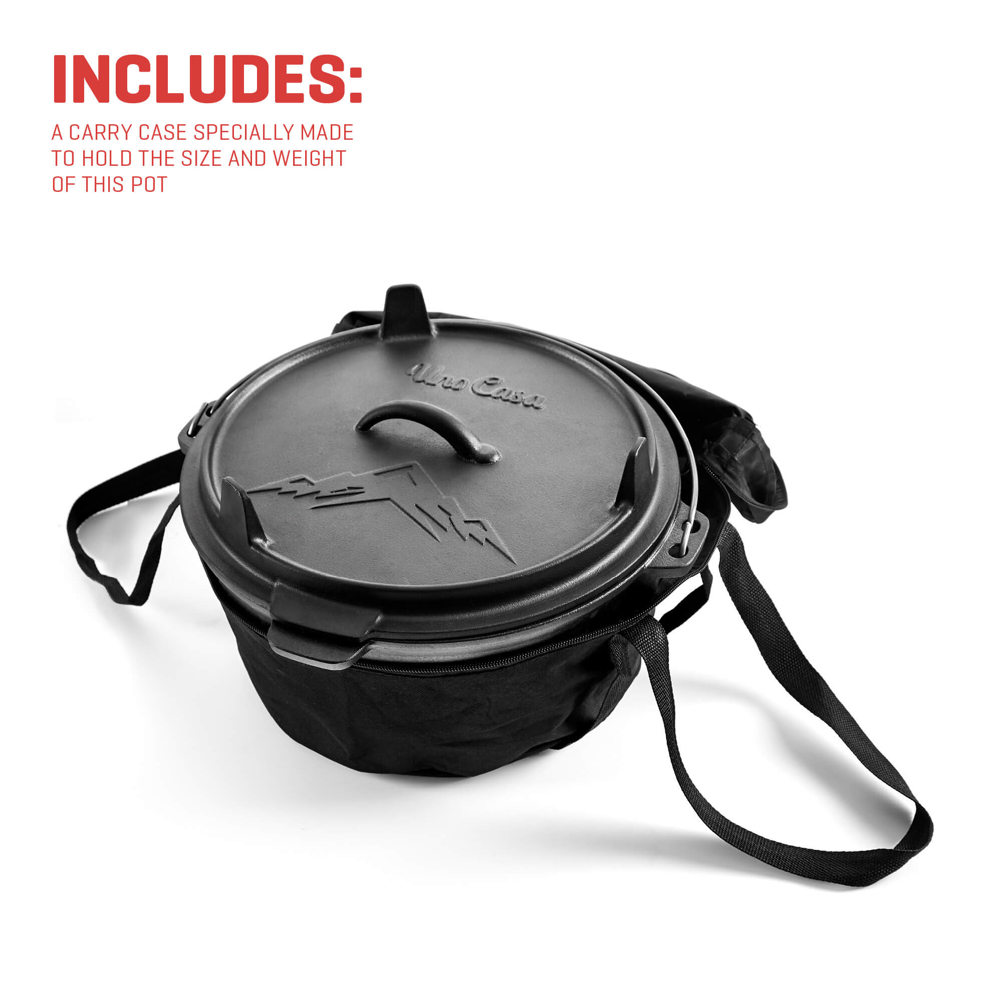 camping dutch oven includes
