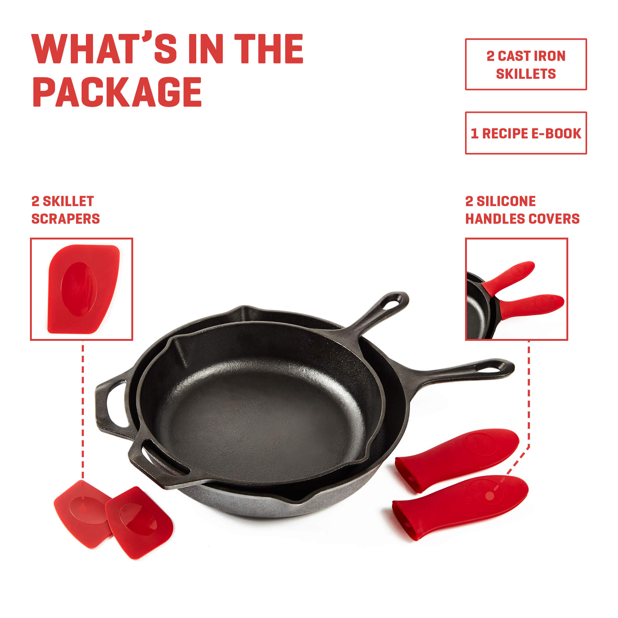 cast iron skillet whats included