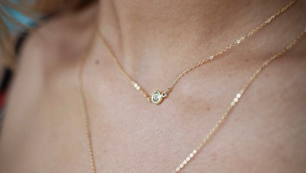 Small CZ Necklace