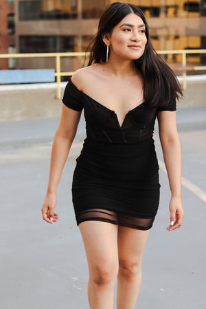 Brit Bustier Bodycon Dress