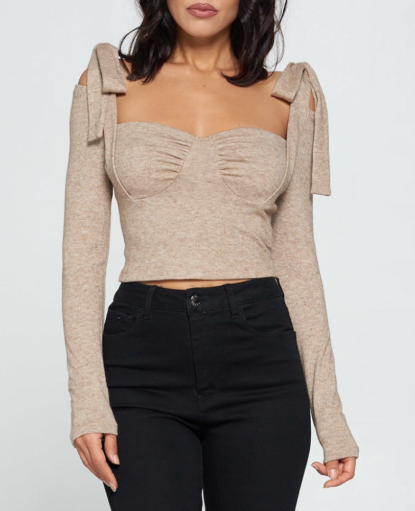 Liss Oatmeal Top