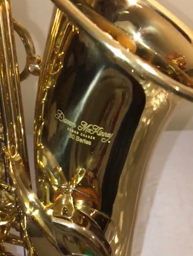 Copy of Darron McKinney Demon Chaser 30 Series Gold Plated Alto Saxophone