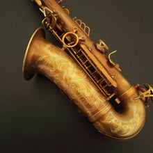 Load image into Gallery viewer, Darron McKinney Demon Chaser 30 Series Big Bell Gold-Copper Vintage Professional Alto Saxophone
