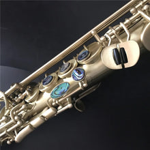 Load image into Gallery viewer, Darron McKinney Demon Chaser 30 Series Matt Gold Lacquer Professional Soprano Saxophone