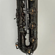 Load image into Gallery viewer, Darron McKinney Demon Chaser Black Vintage Series Professional Low A Baritone Saxophone