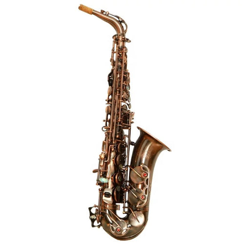 Darron McKinney  Demon Chaser 30 Series Red Antique Plated Professional Alto Saxophone