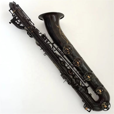 Darron McKinney Demon Chaser Black Vintage Series Professional Low A Baritone Saxophone