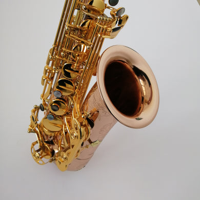 "Darron McKinney ""Big Bell"" Demon Chaser 30 Series Copper Brass Professional Alto Saxophone"