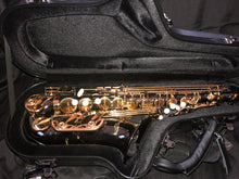 Load image into Gallery viewer, Darron McKinney Demon Chaser 30 Series Black Nickel Gold Big Bell Professional Alto Saxophone