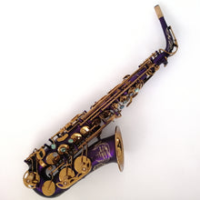 "Load image into Gallery viewer, Darron McKinney Demon Chaser ""Big Bell"" Holy Ghost Series  Professional Alto Saxophone"