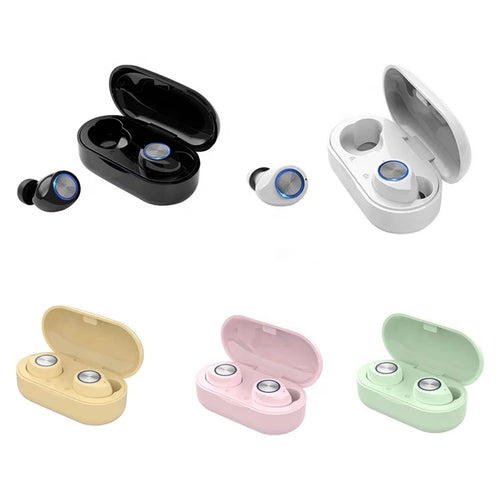 True wireless ear buds, Noise cancellation Powerful Sound  Support IOS and Android.