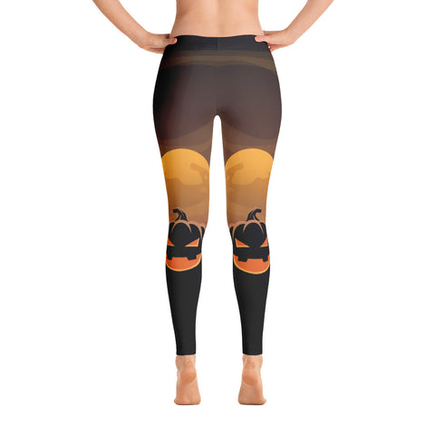 Image of Night Pumpkins Leggings