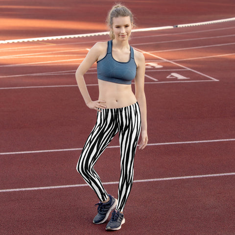 Zebra Pattern Leggings