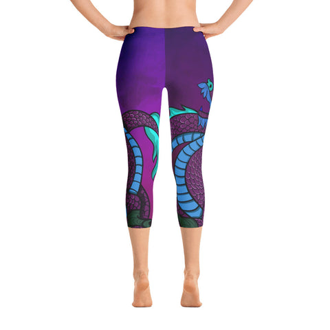 Purple Dragon Capri