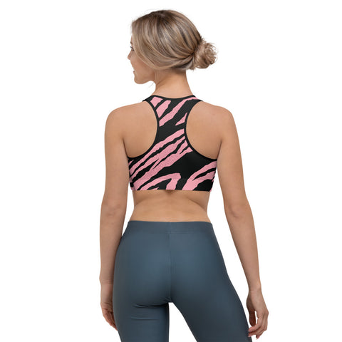 Image of Pink Tiger Sports bra