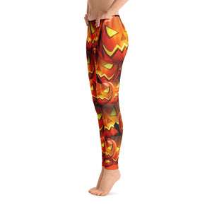 Scary Pumpkin Leggings