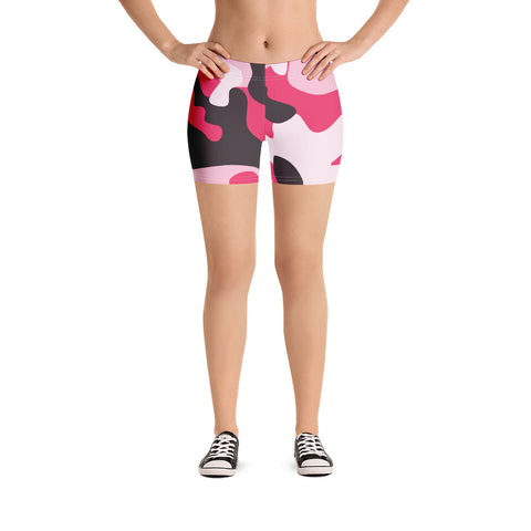 Image of Pink Camo Shorts