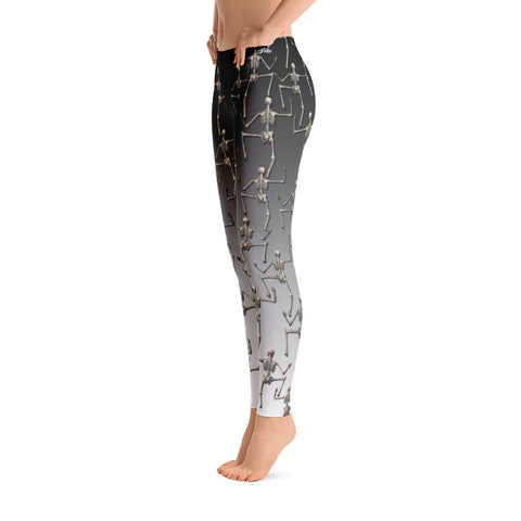 Image of Climbing Skeletons Leggings
