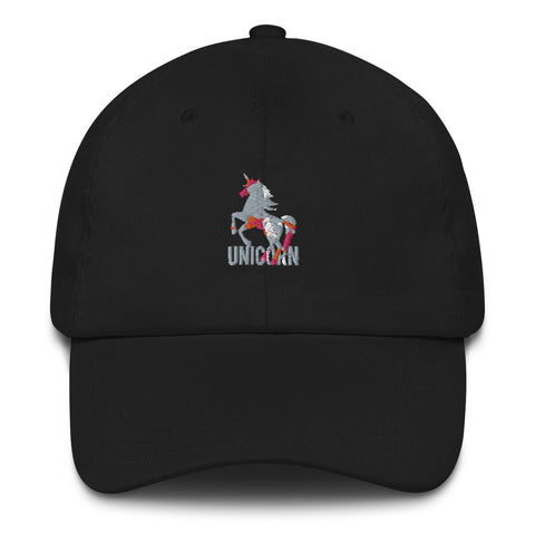 Image of Lovely Unicorn Stylish Dad hat