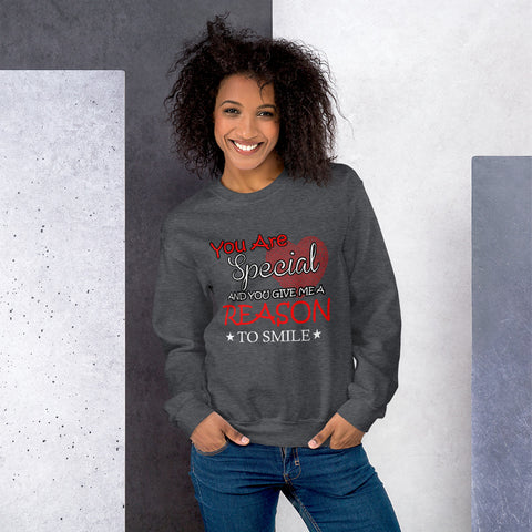 Reason To Smile Unisex Sweatshirt