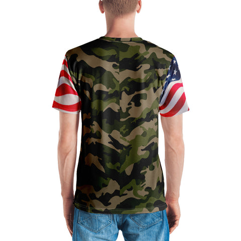 Patriotic Men's Camo T-shirt