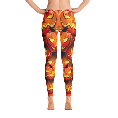 Image of Scary Pumpkin Leggings